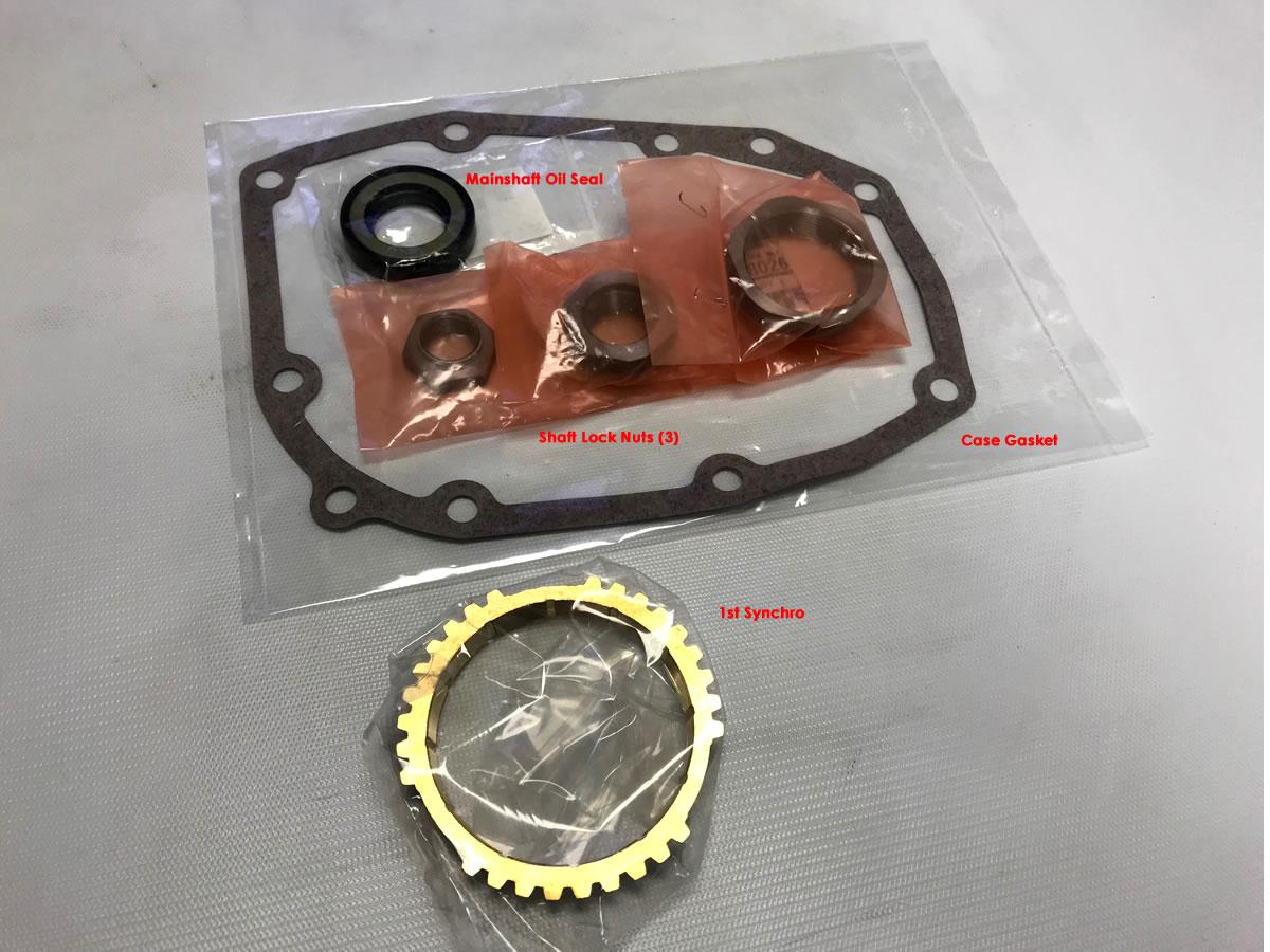 RalliSpec Type RA Gearset