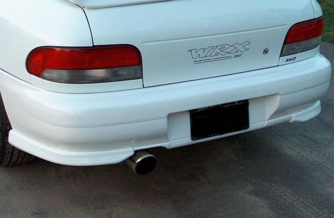 JDM GC8 Rear Bumper Conversion